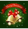 Festive Jingle Bells vector image