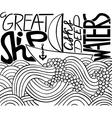 sailing ship sketch vector image