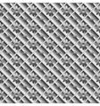 Design seamless metallic diagonal pattern vector image