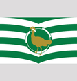 Flag of Wiltshire vector image vector image
