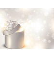 christmas holiday gift box vector image