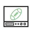 Rugby Match vector image