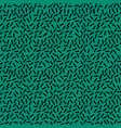 green abstract memphis pattern vector image