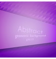 Abstract violet geometric pattern vector image