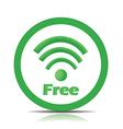 Free wifi vector image vector image