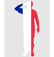 French Salute vector image