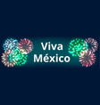 independence day of mexico vector image