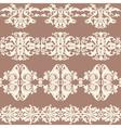 border banner seamless pattern vector image vector image