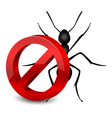 pesticide icon vector image vector image