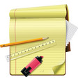 vector notepad xxl icon vector image vector image