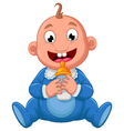 baby cartoon vector image