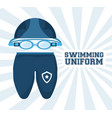 swimming pool sport game to competition vector image