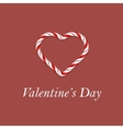 Valentines Day Romantic Banner vector image vector image