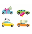 Buying car rent and loan vector image
