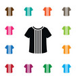 isolated cotton icon shirt element can be vector image