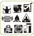 Repair and construction - set of icons vector image vector image