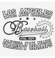 Baseball Logotype vector image