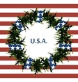USA flag symbols Abstract background with the vector image