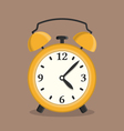 Yellow Alarm Clock vector image