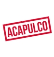 Acapulco rubber stamp vector image