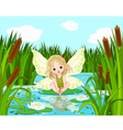 Lake Fairy vector image
