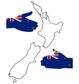 Welcome to New Zealand vector image