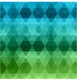Geometric hipster retro background vector image