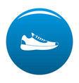 sneakers icon blue vector image