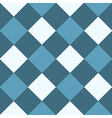 Ocean Blue White Diamond Chessboard Background vector image