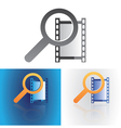 media search vector image