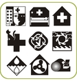 Medical and Veterinary - Set of icons vector image vector image