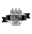 Premium Quality 100 percent vector image vector image