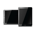 ipad portable computer tablet vector image