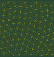 seamless clover background vector image