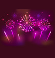 celebration banner for new year vector image