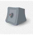 Safe box cartoon vector image