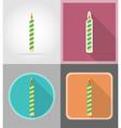 celebration flat icons 01 vector image