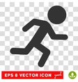 Running Child Eps Icon vector image