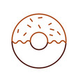 donut dessert pastry product food fresh vector image