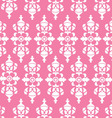 Vintage Pink Wallpaper vector image