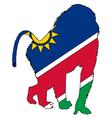 Baboon Namibia vector image