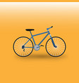 Moutain bike bicycle vector image