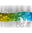 Soccer on the abstract wave vector image