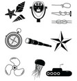 Nautical elements 2 vector image