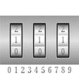 combination lock 02 vector image
