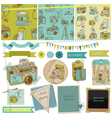 Scrapbook Design Elements - Vintage Photo Camera vector image vector image