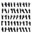 Sign language vector image