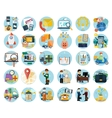 Set of Business Icon Banners vector image