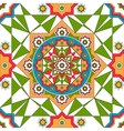 Oriental ornate seamless pattern Ethnic bright vector image
