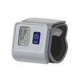 sphygmomanometer blood pressure meter with vector image